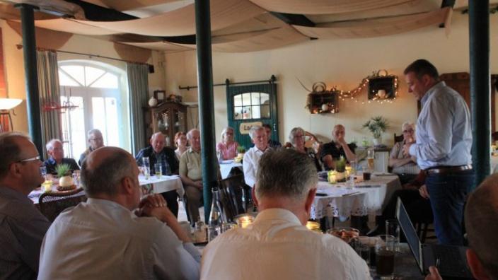 Samtgemeinde-Unternehmer diskutieren mit MdB Mattfeldt